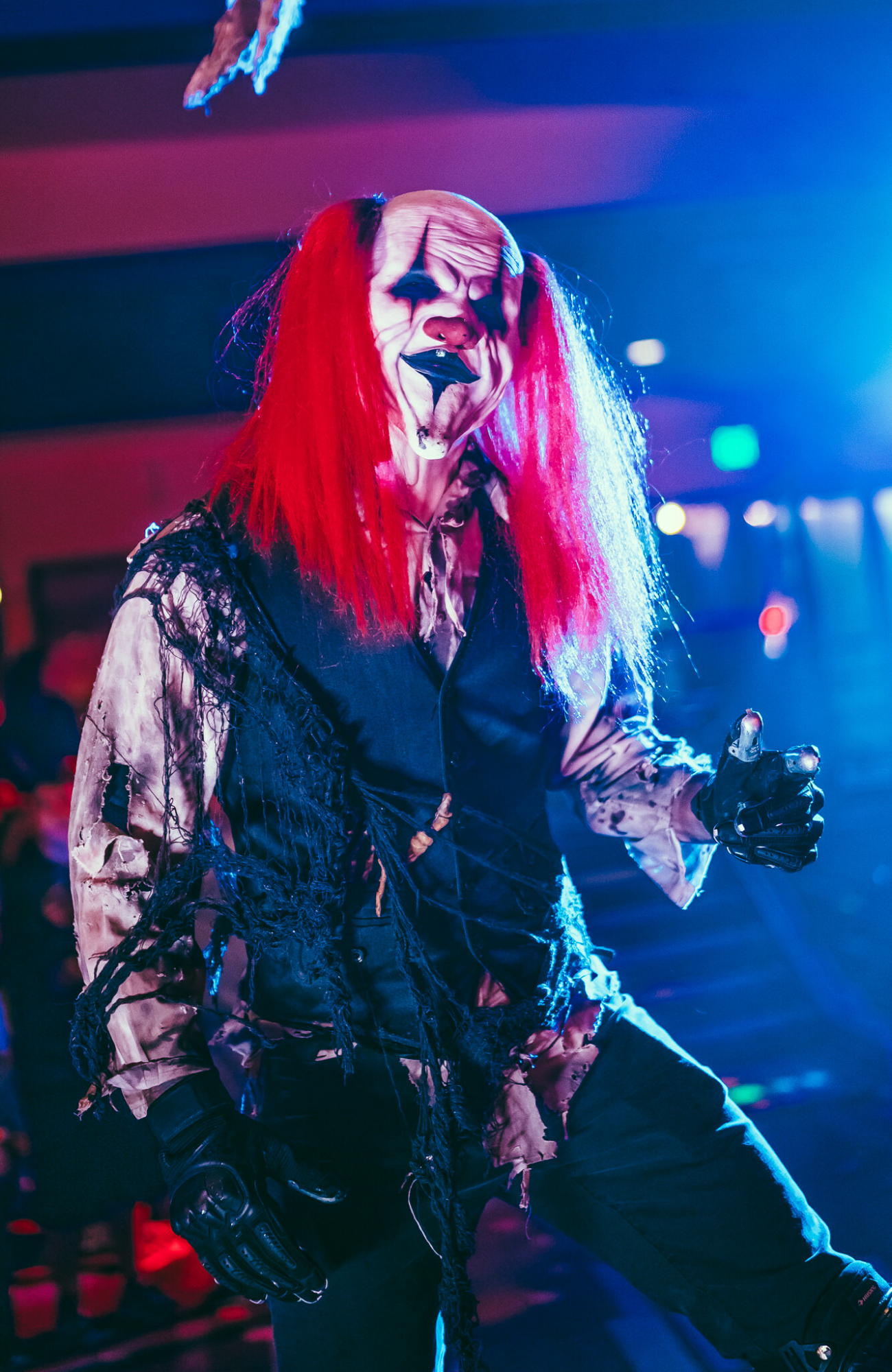 Jester Character at Cinema of Horrors
